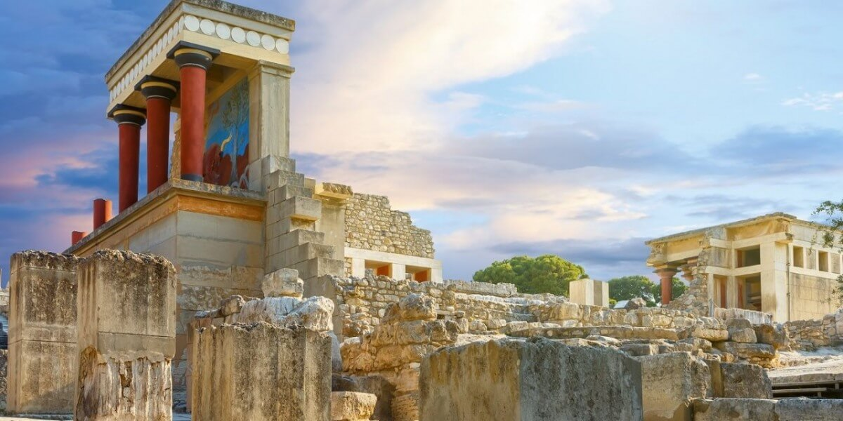 Knossos palace & archaeological museum of Heraklion
