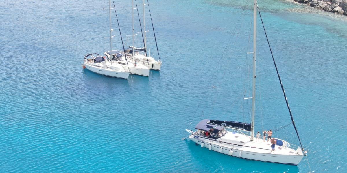 Sailing trip to Dia island