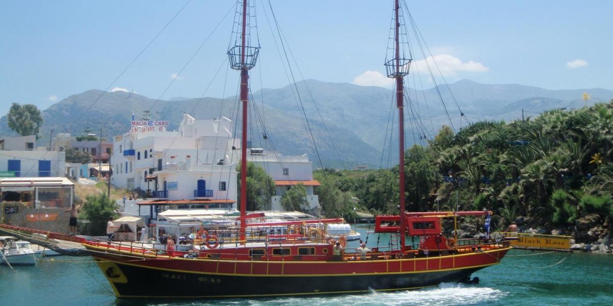 Pirate boat - Dia island cruise